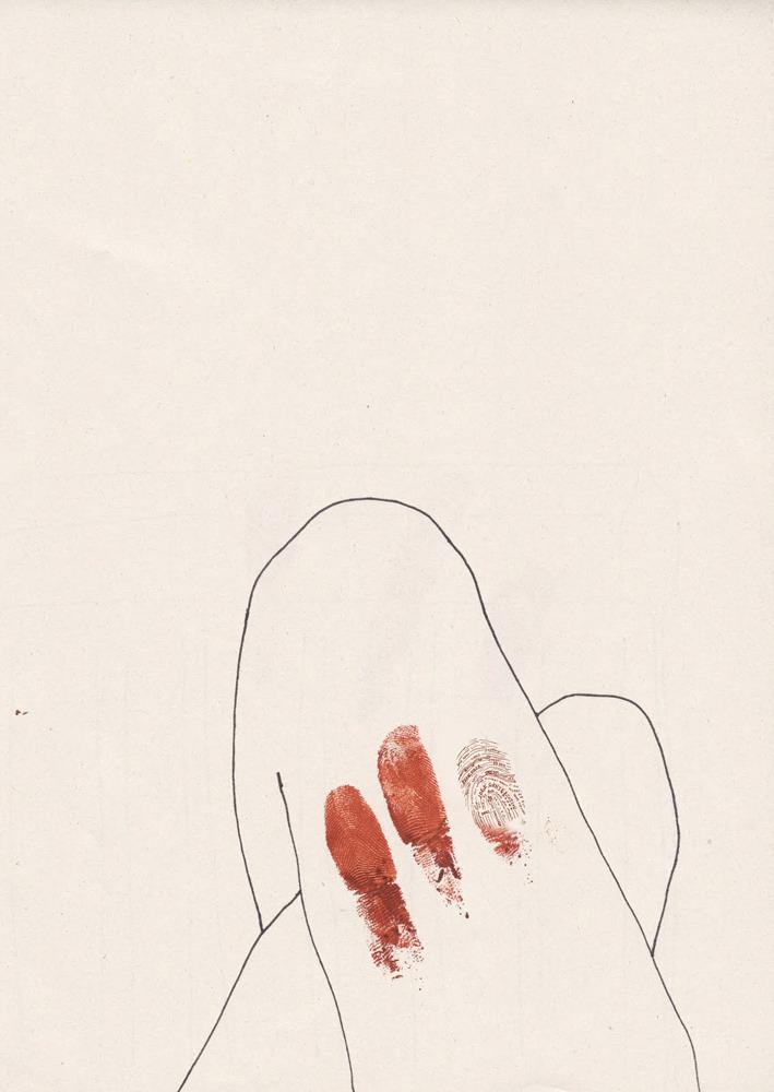 Mine A5 Print by Charlotte Edey