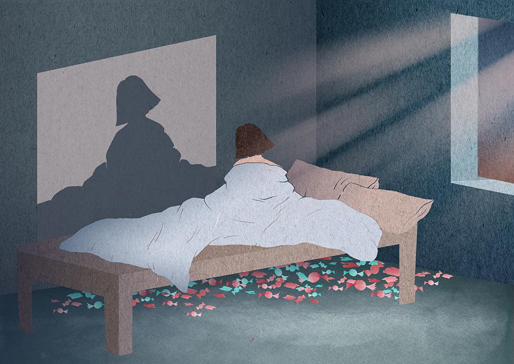 BBC News Illustration Charlotte Edey